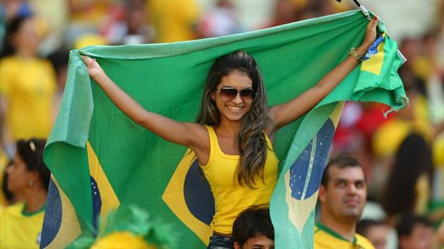 Brazil World Cup Girls